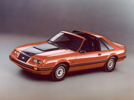 "1983 models like the popular Ford Mustang GT 5.0 will have their own special parking place on ""Flashback Sunday!"""
